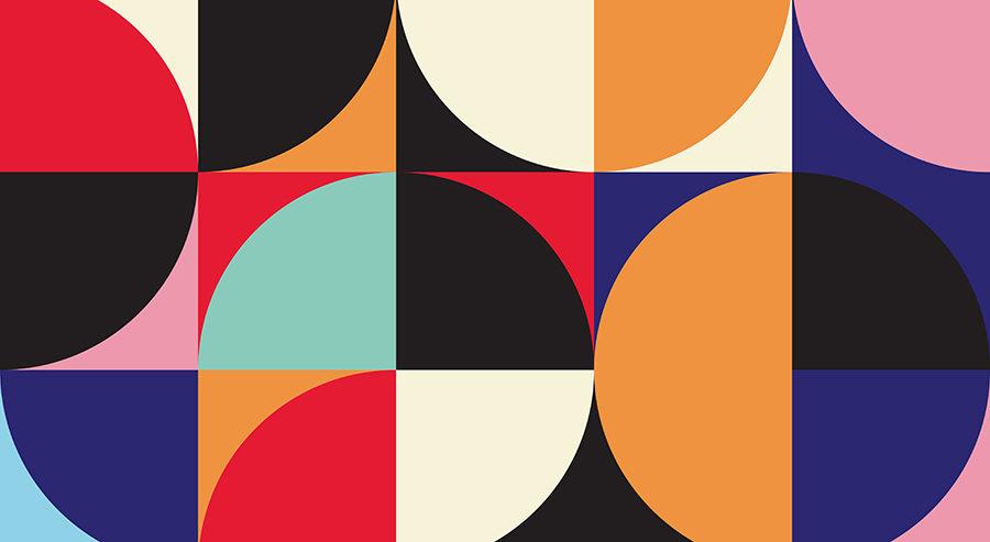 Kuva Bauhaus tyylistä.