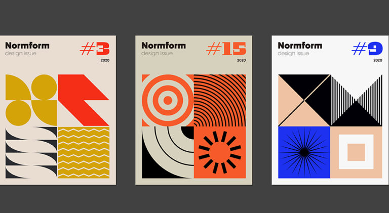Kuvia Bauhaus muotoilusta.